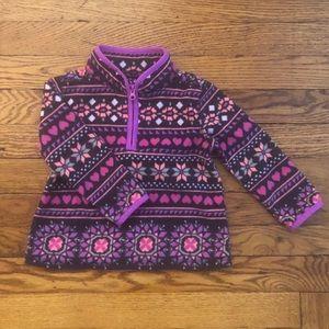 OshKosh Baby Girls Fleece Pullover Size 24 Months